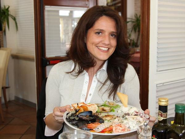 """Блюдо с морепродуктами в ресторане """"Микеланджело"""", Лидо-ди-Езоло / Фото из Италии"""