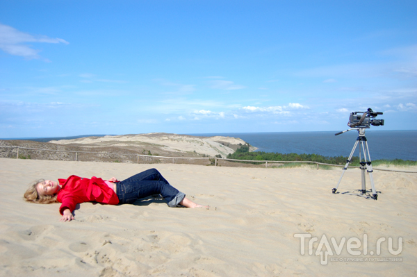 Дюну Агилос любят снимать кинооператоры  / Фото из Литвы