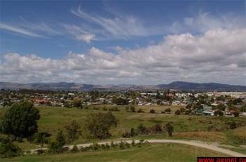 Вид на город / Новая Зеландия