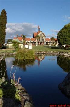 Правительственные сады и музей истории / Новая Зеландия