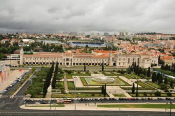 Вид со смотровой площадки / Португалия
