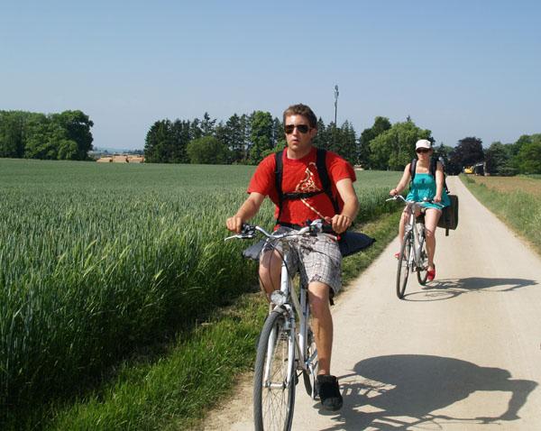 Велосипедный маршрут уровня сложности Relax / Фото из Швейцарии