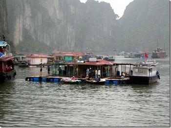Плавучая деревня / Вьетнам