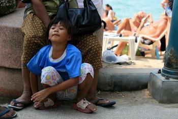 Паттая. Пляж / Таиланд