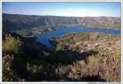 Вид на озеро в кратере Венчи / Эфиопия
