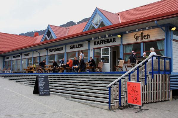 Найти кафе и ресторан в Лонгире - не проблема / Фото со Шпицбергена