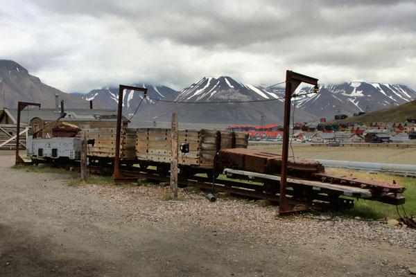 Транспортная система угля в Лонгире / Фото со Шпицбергена