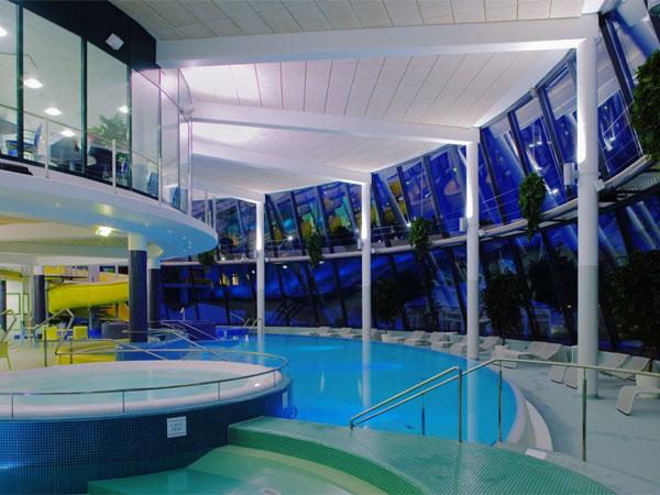Аквапарк гостиницы Rantasipi Spa Hotel Aulanko / Фото из Финляндии