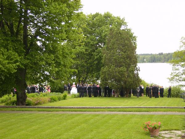 Свадебная церемония в замке будет особенно незабываемой / Фото из Финляндии