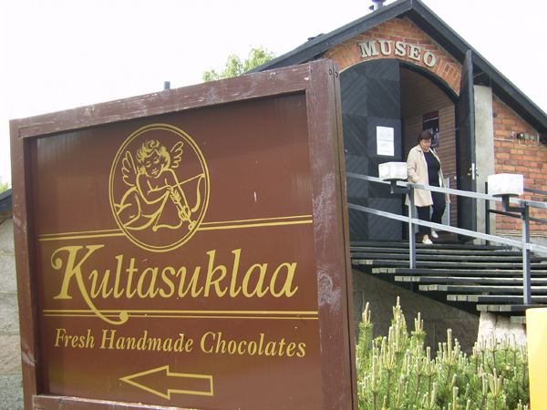 В Иттала можно понаблюдать и за изготовлением шоколада / Фото из Финляндии