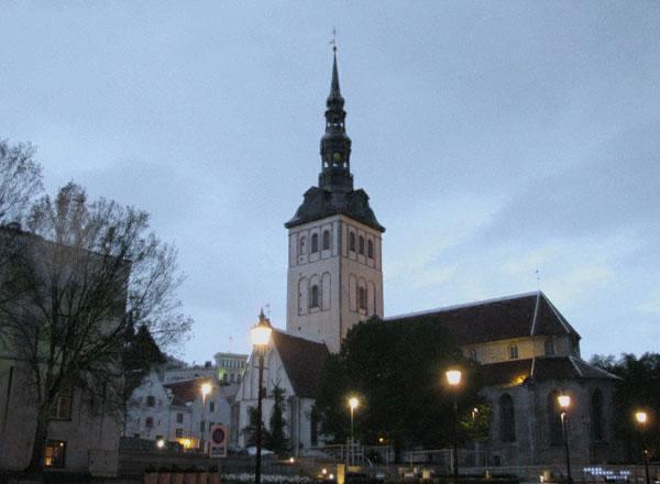 Церковь Святого Николая в Таллине (XIII век) / Фото из Эстонии