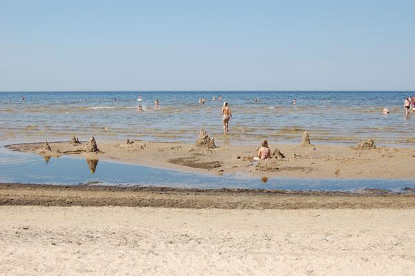 Пляж в Юрмале / Фото из Латвии