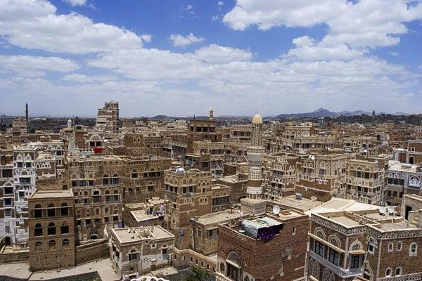 Сана - запоминающаяся столица Йемена / Фото из Йемена