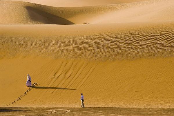 Пустыня Рамлат-эс-Сабъатайн, Йемен / Фото из Йемена