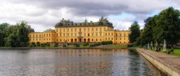 Королевская резиденция Drottningholm / Фото из Швеции