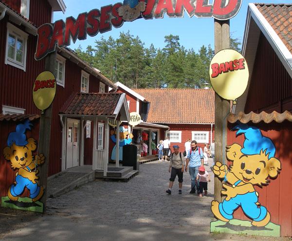 Городок Бамси - для самых маленьких / Фото из Швеции