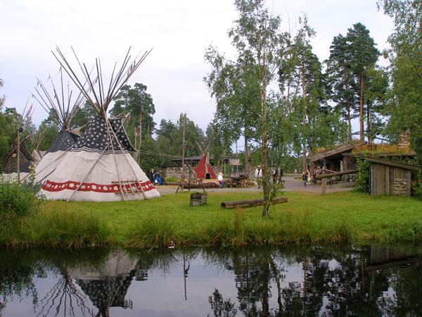 Индейский остров расположен рядом со Старой Мексикой / Фото из Швеции
