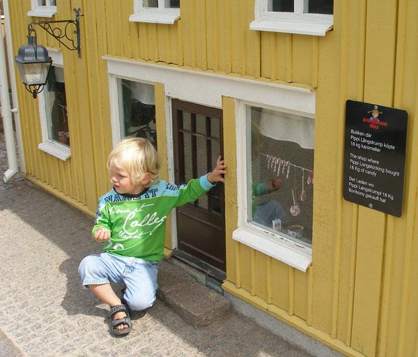 Дети - хозяева городка / Фото из Швеции