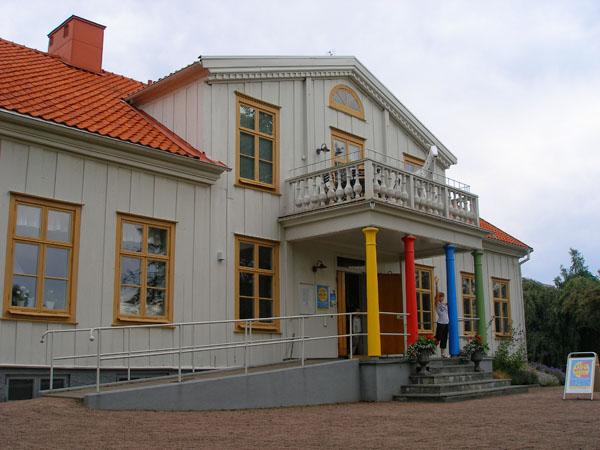 Дом Пеппи в Виммербю / Фото из Швеции