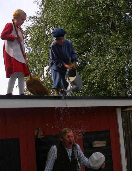 Новая шалость Эмиля станет поводом для разговоров в Леннеберге / Фото из Швеции