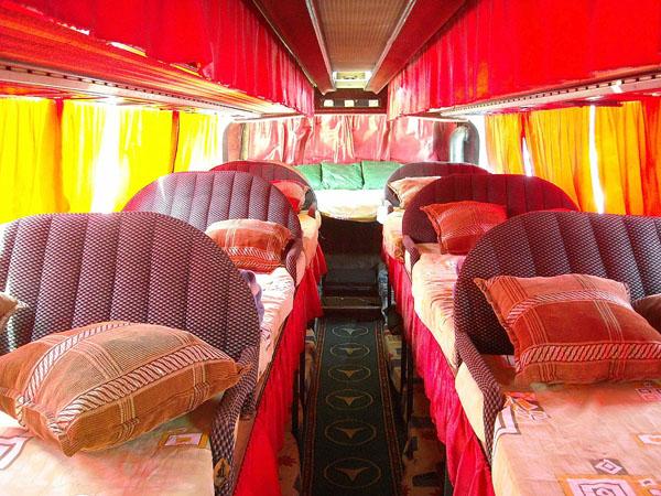 Автобус Махачкала - Москва со спальными местами / Фото из России