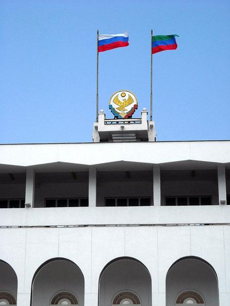 На центральной площади Махачкалы / Фото из России