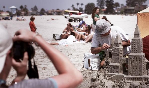 Пляж в Сан-Диего / Фото из США