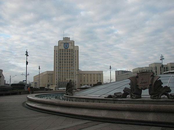 Площадь Независимости в Минске / Фото из Белоруссии