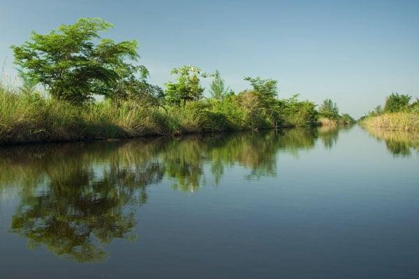 "Река Атигуанико - ""кубинская Амазонка"" / Фото с Кубы"