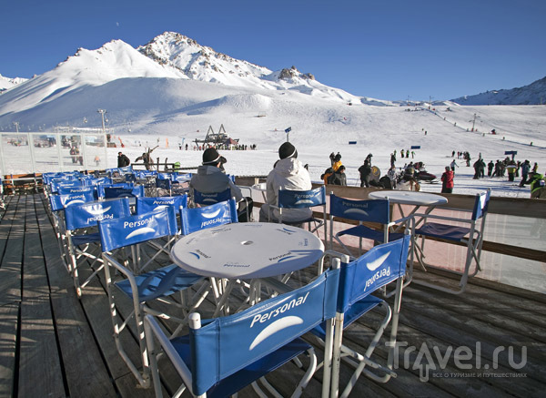 Температура на аргентинских курортах оптимальна для катания / Фото из Аргентины
