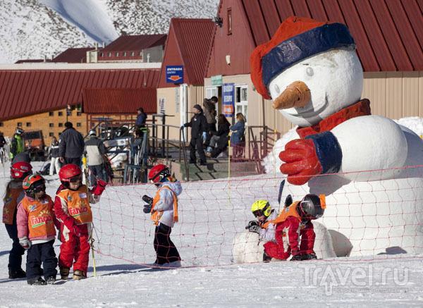 На горнолыжных курортах Аргентины много новичков и детей, курорт Лас-Леньяс / Фото из Аргентины
