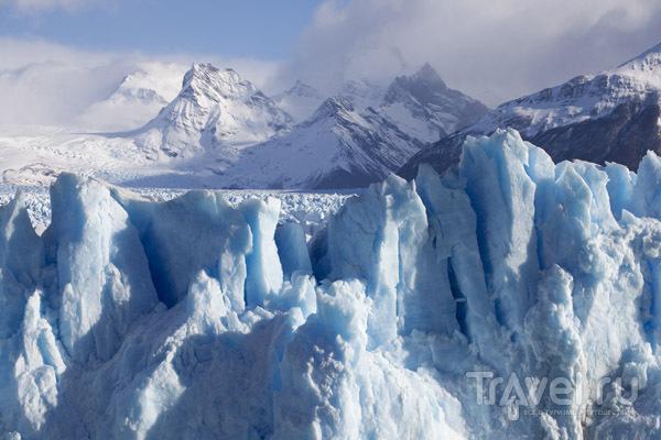 Ледник Perito Moreno, Аргентина / Фото из Аргентины