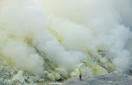 Огромные столбы дыма / Индонезия
