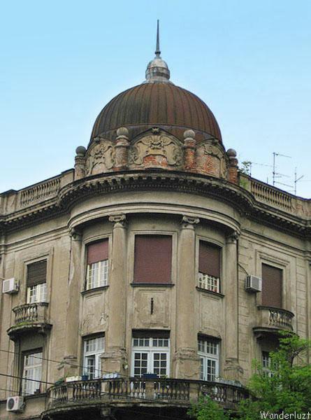Архитектура Белграда иногда напоминает Бухарест / Фото из Сербии