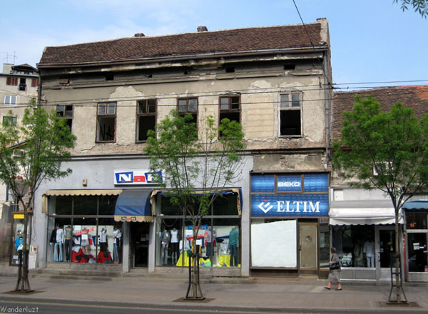 Некоторые дома Белграда - не в лучшем состоянии / Фото из Сербии