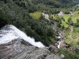 Верхняя часть водопада / Норвегия