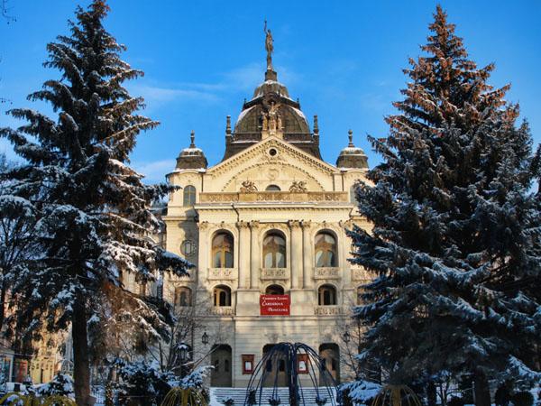 Городской театр XIX века, Кошице / Фото из Словакии