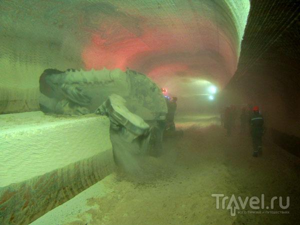 Под Соликамском расположены километры шахт и туннелей / Фото из России