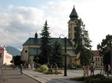 Костел Святого Микулаша – символ города / Словакия