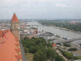 Вид из Града на Дунай / Словакия