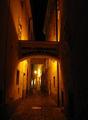 Улицы ночной Братиславы / Словакия