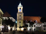 Ночная Братислава / Словакия