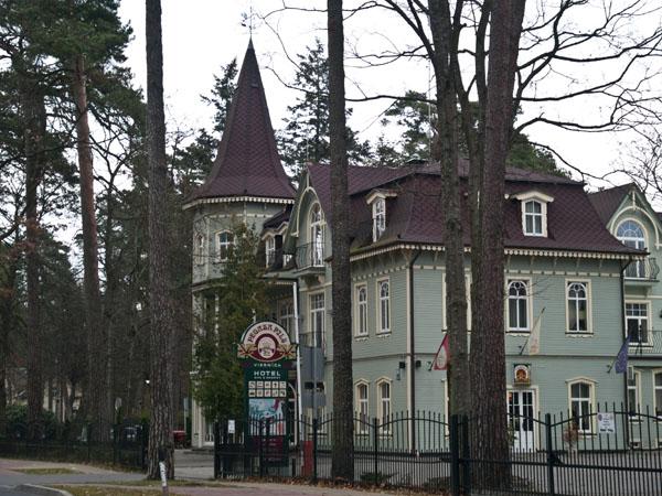 Гостиница в Дзинтари, Юрмала / Фото из Латвии