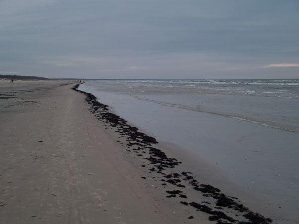 Бесконечная береговая линия, Лиепая / Фото из Латвии