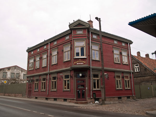 Гостиница Fontaine в Лиепае / Фото из Латвии