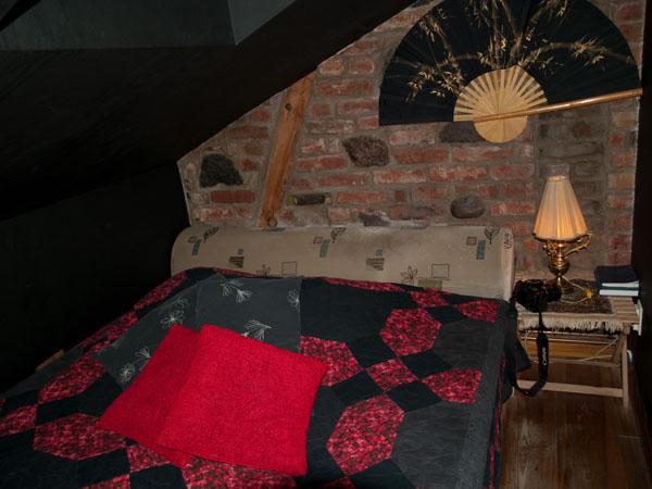 Black Room в гостинице Fontaine / Фото из Латвии