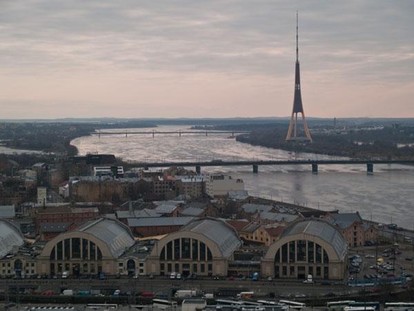 Панорама Риги / Фото из Латвии