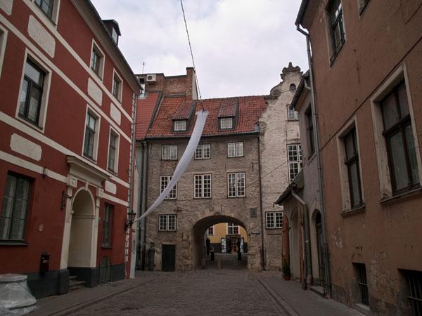 Старый город в Риге / Фото из Латвии