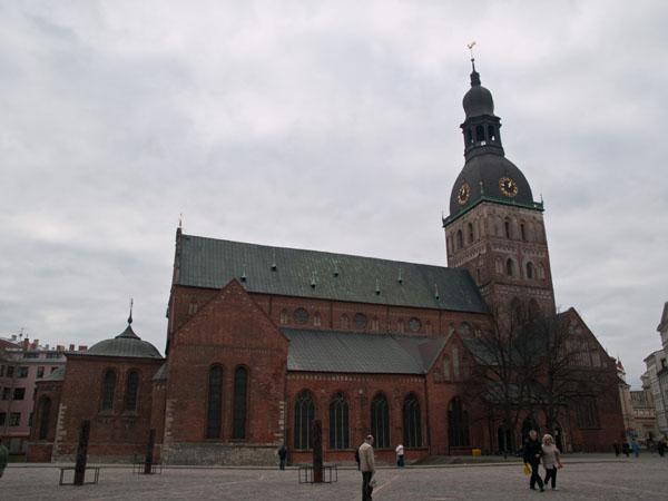 Домский собор в Риге / Фото из Латвии