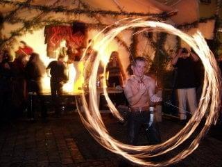 Fire-show / Германия